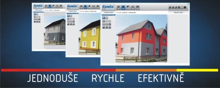 Program na návrh fasády rodinného domu